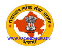 RPSC Sub Inspector SI Recruitment 2021